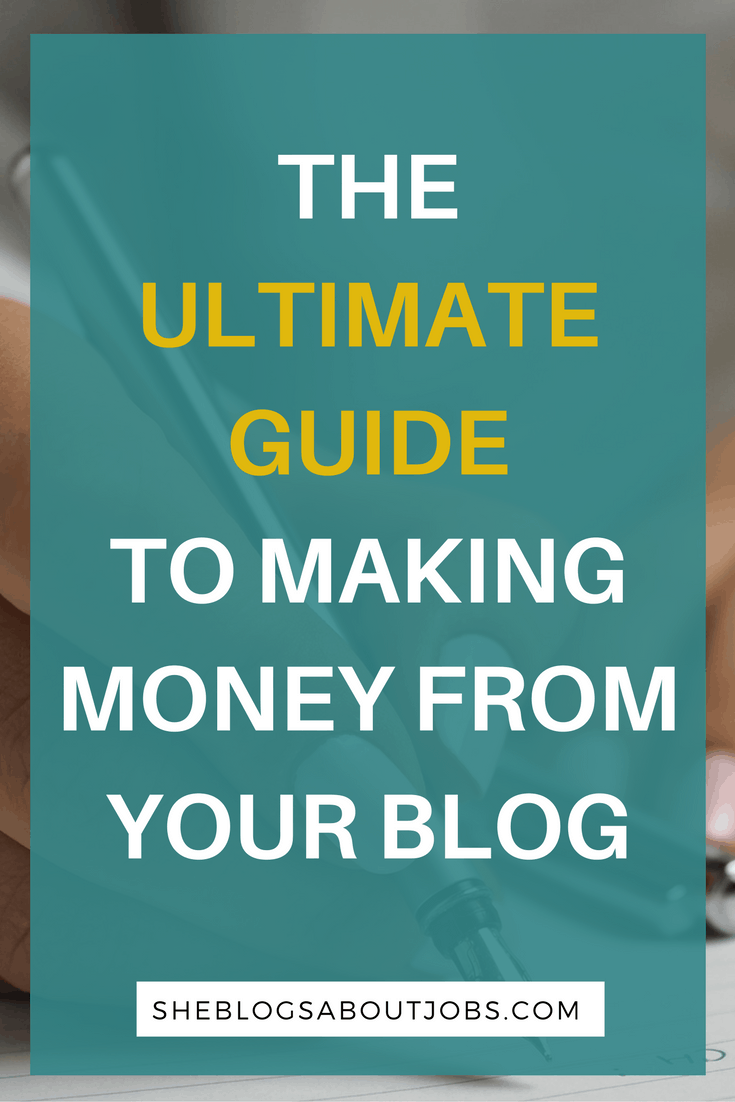 26 awesome ways to make money blogging!