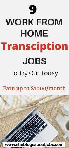 Online transcription jobs | Transcription jobs for beginners | Looking for great work at home transcription jobs to try out for extra money? Have a look at this post to learn how to make money from home