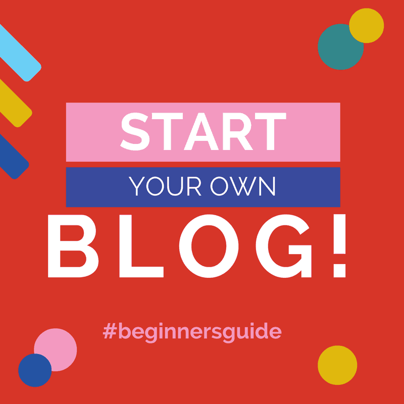 start a blog for beginners