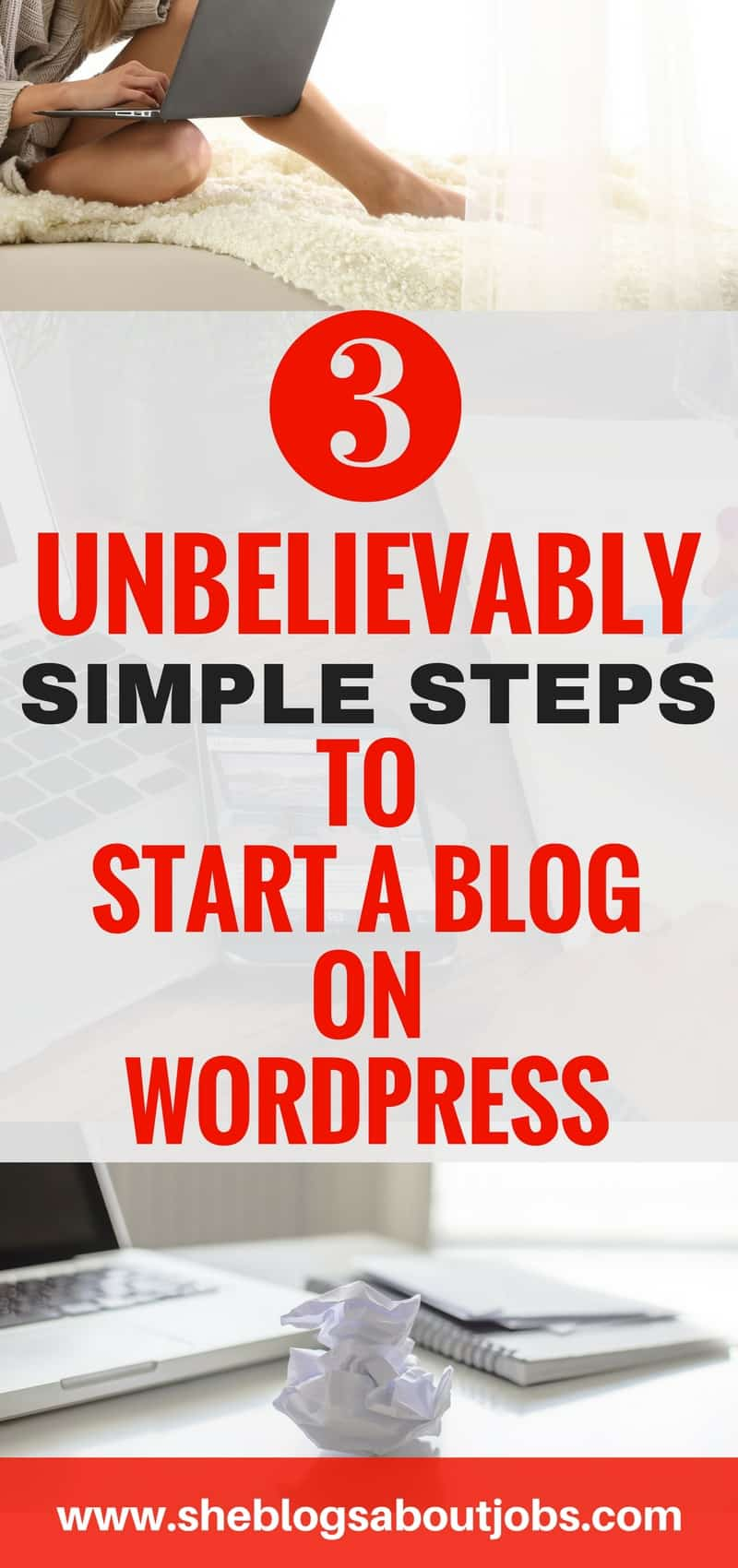 Click this image to learn how to start a blog in 3 super easy steps. This is a step by step tutorial to help you with starting your blog and getting it up an running so that you can start sharing your content with the world! How to blog| Starting a blog| Beginners guide to blogging| Blogging for beginners| Blogging tips|