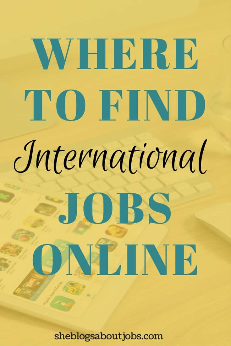 international jobs online