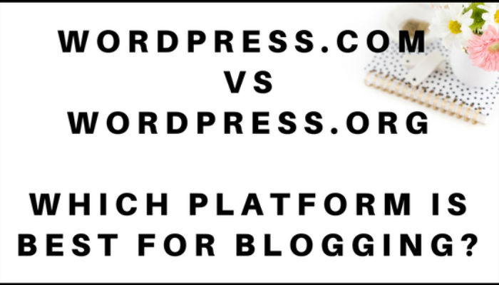 Create A Blog In WordPress For Beginners: .Org vs .Com