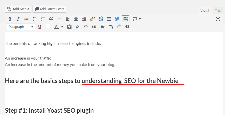 the basic principles og understanding seo for the newbie